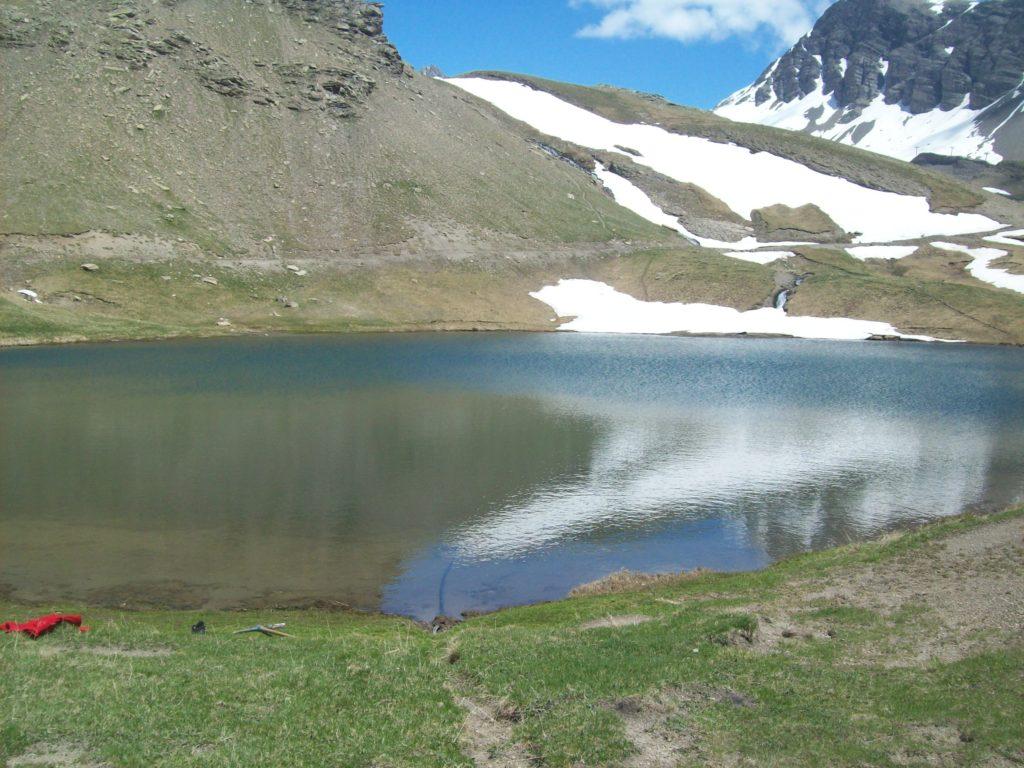 Le lac des Sirènes 2400 m